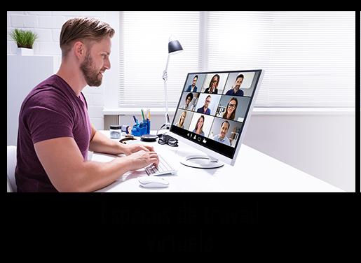 Espaces de travail virtuels