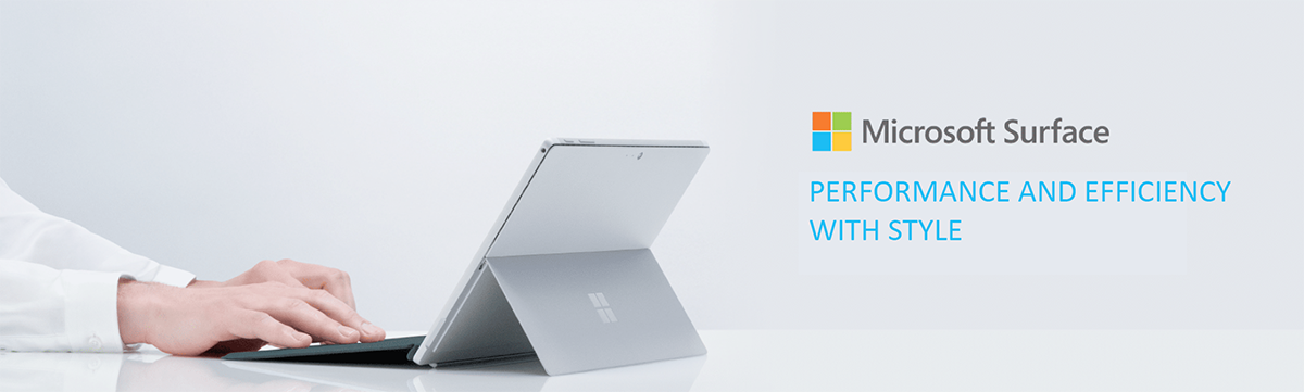 Microsoft surface Performance and efficiency with style